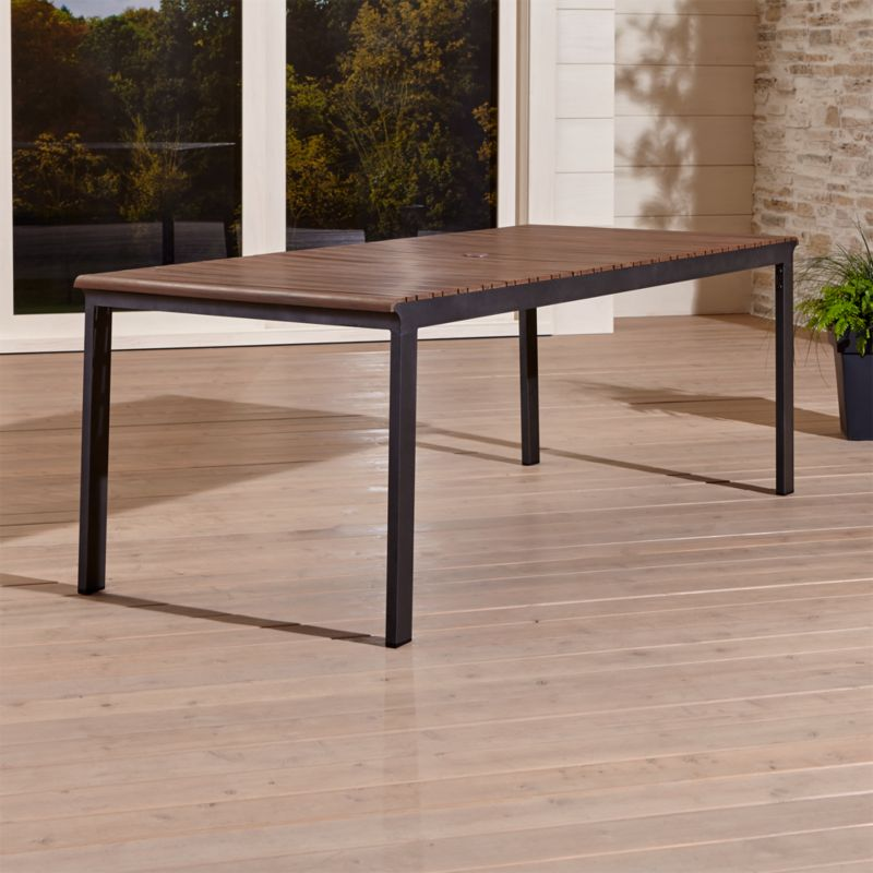 Rocha Ii Rectangular Dining Table Reviews Crate And Barrel