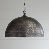 Rodan Hammered Metal Pendant Light | Crate and Barrel