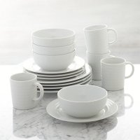 Roulette 16-Piece Dinnerware Set | Crate and Barrel