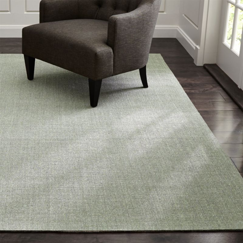 Design Kitchen Layout Cabinets Sisal Dove Grey Rug | Crate And Barrel
