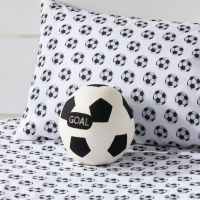 Soccer Ball Pillow + Reviews | Crate and Barrel