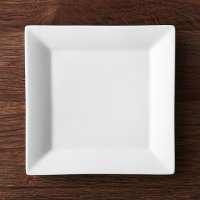 "Square Rim 10.25"" Plate 