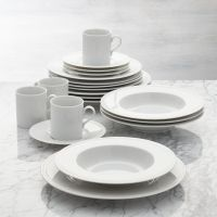 Staccato 20-Piece Dinnerware Set | Crate and Barrel