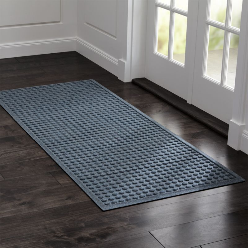 Daybeds Houzz Thirsty Dots Grey Large Doormat + Reviews | Crate And Barrel