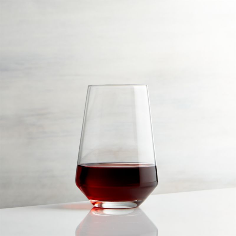 Chair Sleeper Tour Stemless Wine Glass | Crate And Barrel