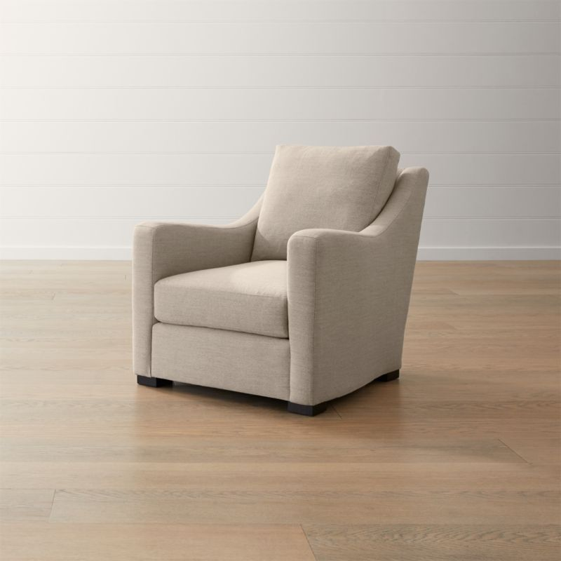 Verano Ii Slope Arm Chair Reviews Crate And Barrel