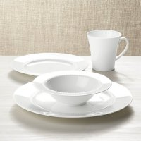 White Pearl 4-Piece Place Setting | Crate and Barrel