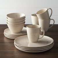 Wilder 16-Piece Dinnerware Set | Crate and Barrel