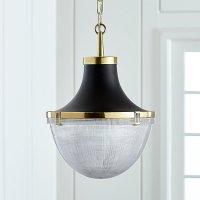 Windsor Brass Pendant | Crate and Barrel