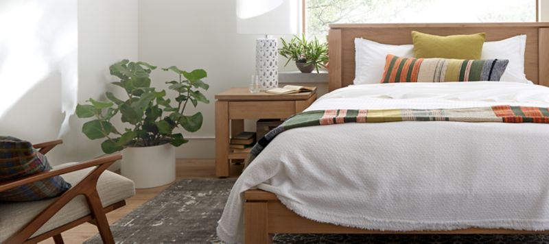 Bed Shops Reading Bedroom Furniture Crate And Barrel