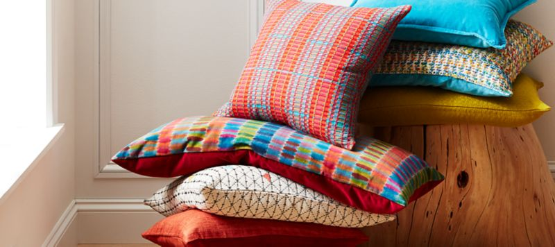 Throw Blankets Throw Blankets And Sofa Pillows On Sale Now Crate And Barrel