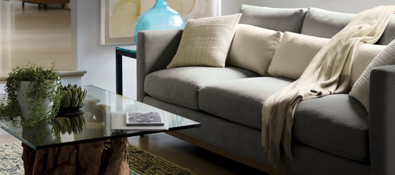 Contemporary Furniture For Small Living Room Room Inspiration Home Decorating Ideas Crate And Barrel
