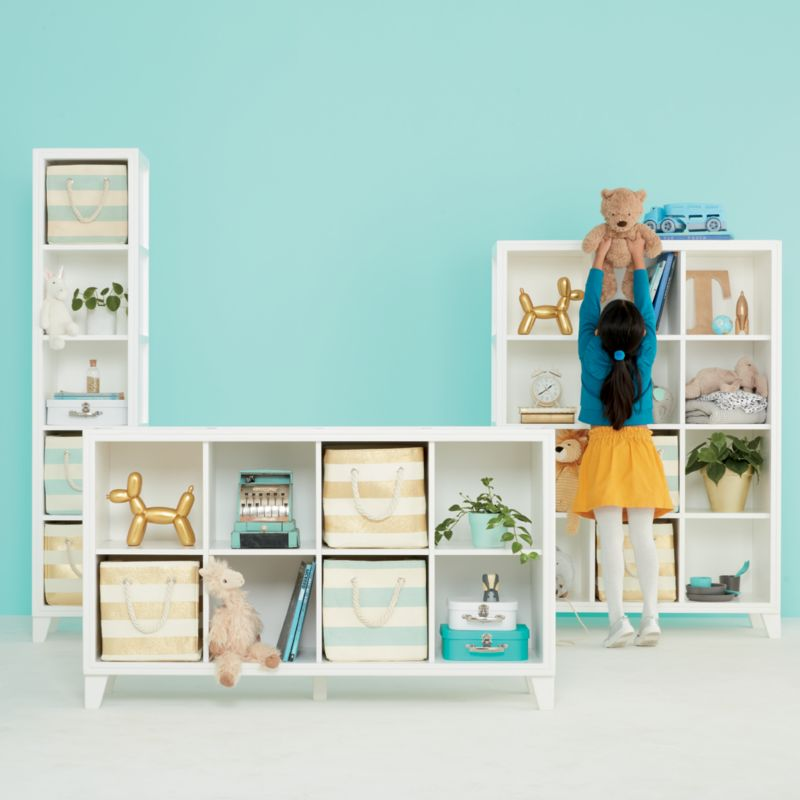 Toy Box With Bookshelf Baby Kids Storage Room And Playroom Crate And Barrel
