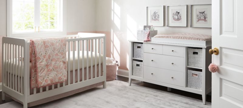 Nursery Themes For Girls Girls Nursery Inspiration Crate And Barrel