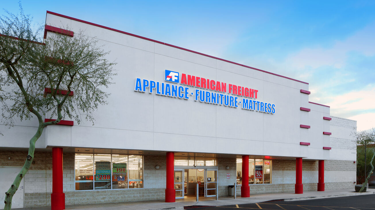 16809 N 9th St Phoenix Az 85022 Retail Property For Sale American Freight Furniture