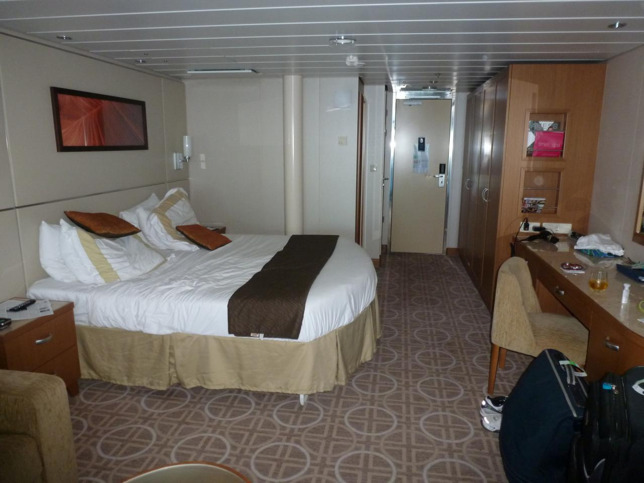 U Form Couch Celebrity Solstice Cruise Review For Cabin 2126