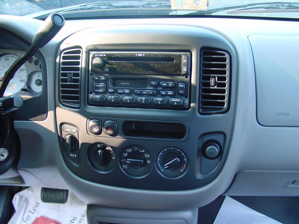 ford escape radio wiring