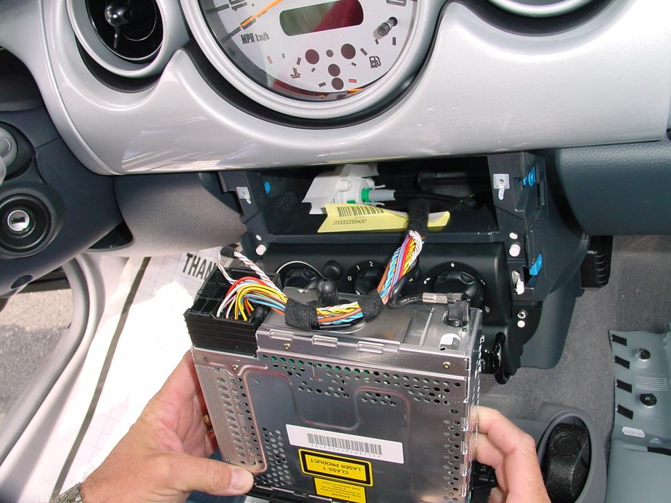 2005 mini cooper radio wiring diagram
