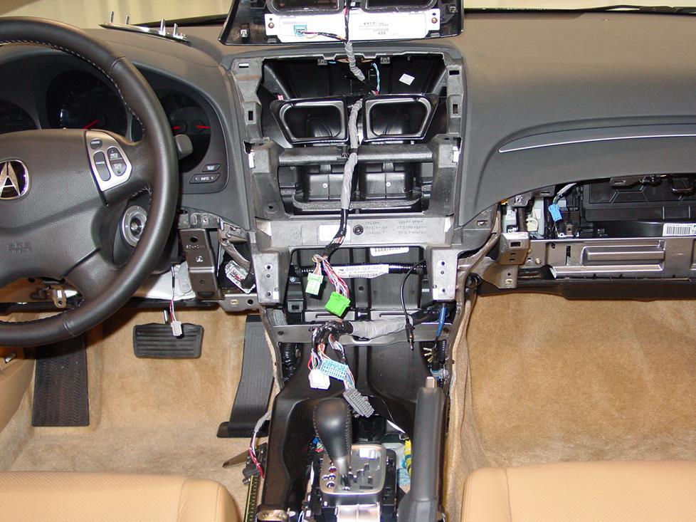 2004-2008 Acura TL Car Audio Profile