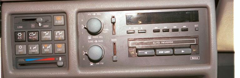 Pontiac Transport Audio \u2013 Radio, Speaker, Subwoofer, Stereo