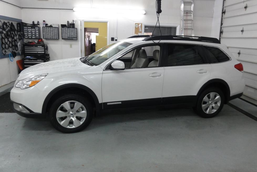 2010-2014 Subaru Outback Car Audio Profile