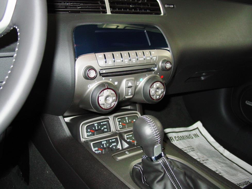 2010-2015 Chevrolet Camaro Car Audio Profile