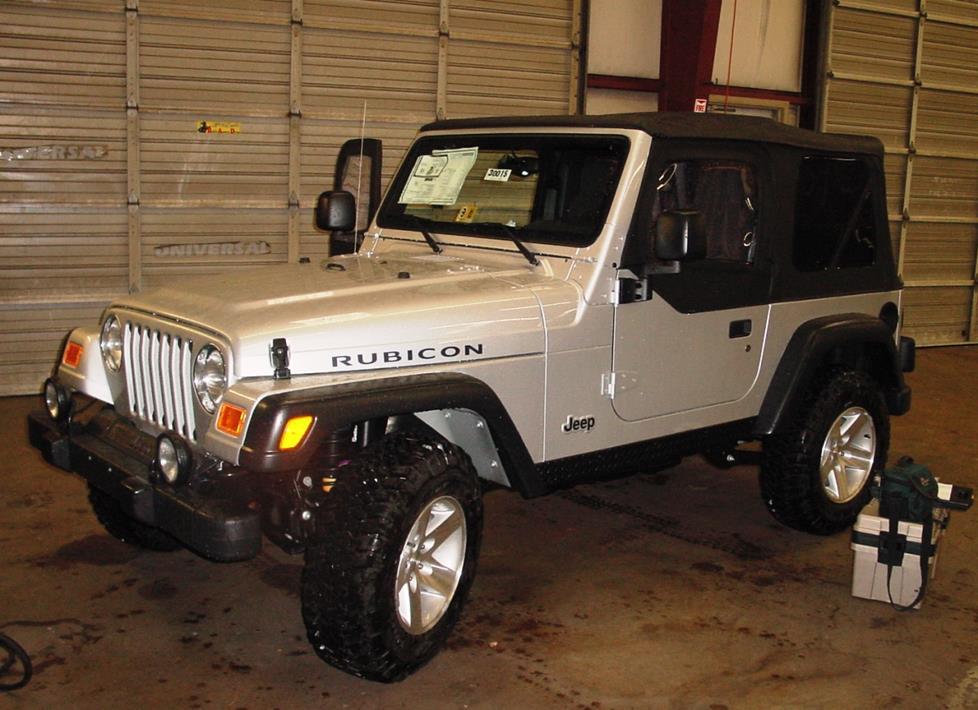 2003-2006 Jeep Wrangler Car Audio Profile