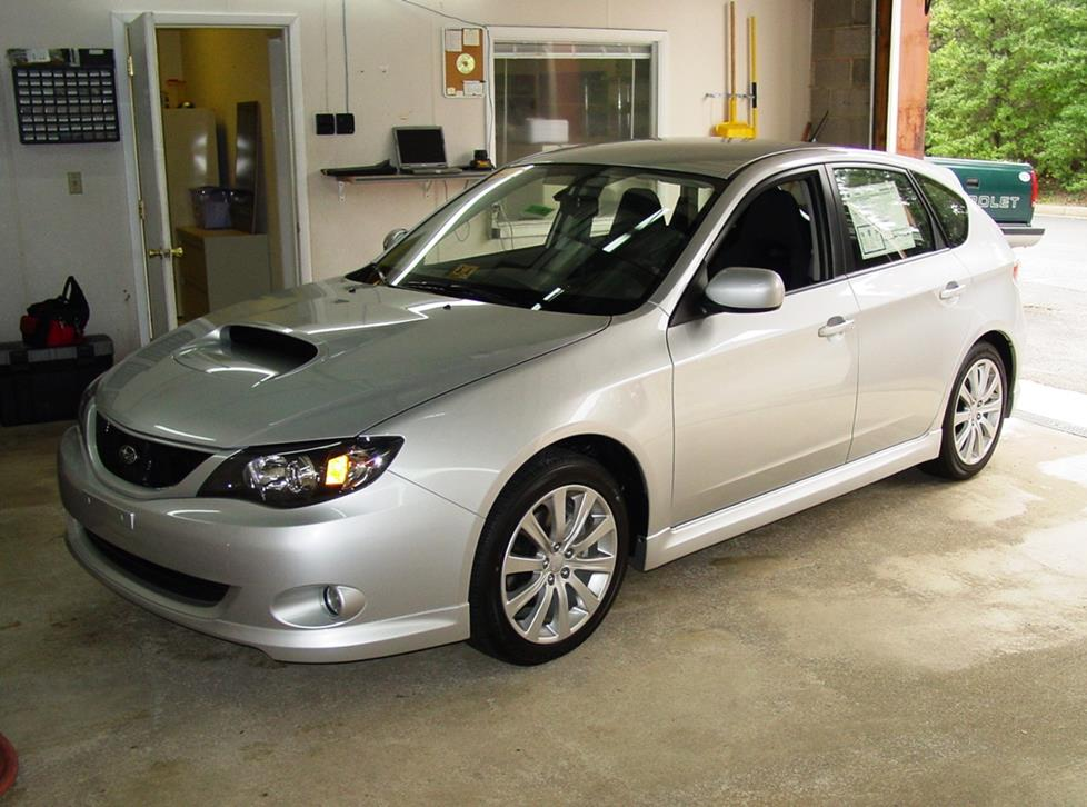 2008-2011 Subaru Impreza Wagon Car Audio Profile