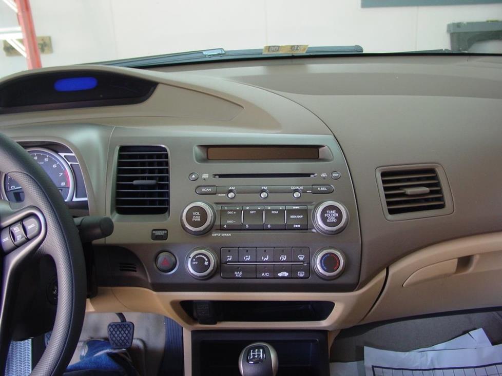 2006-2011 Honda Civic Car Audio Profile
