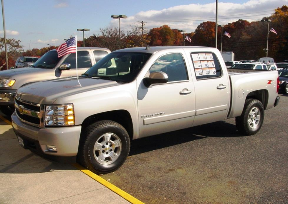 2007-2013 Chevrolet Silverado and GMC Sierra Crew Cab Car Audio Profile