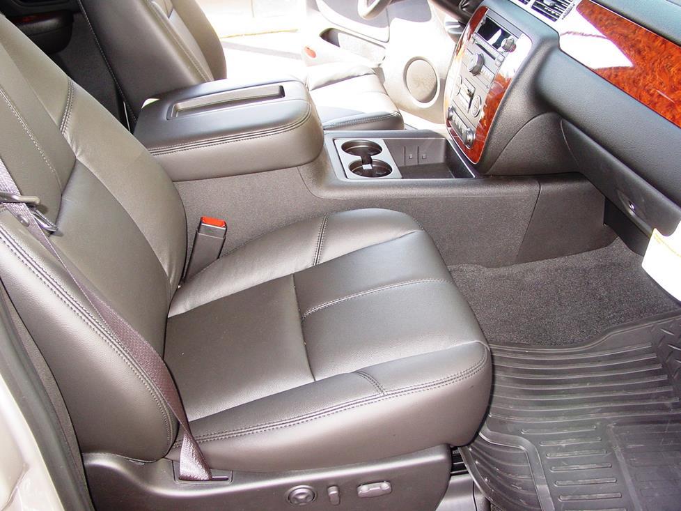 2007-2013 Chevrolet Silverado and GMC Sierra Crew Cab Car Audio Profile