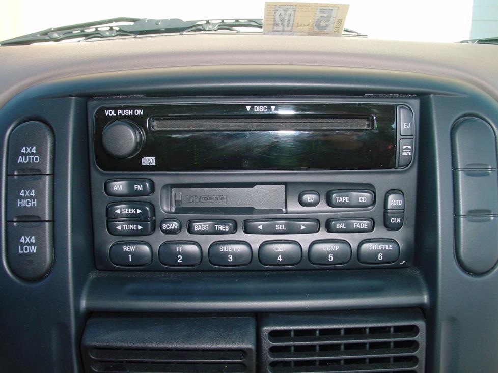 2002-2004 Ford Explorer Car Audio Profile