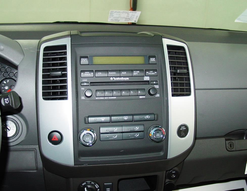 2005-2012 Nissan Xterra Car Audio Profile
