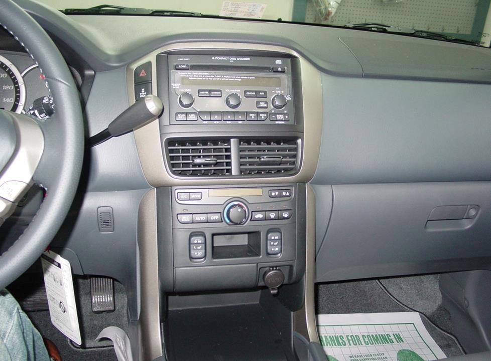 2003-2008 Honda Pilot Car Audio Profile