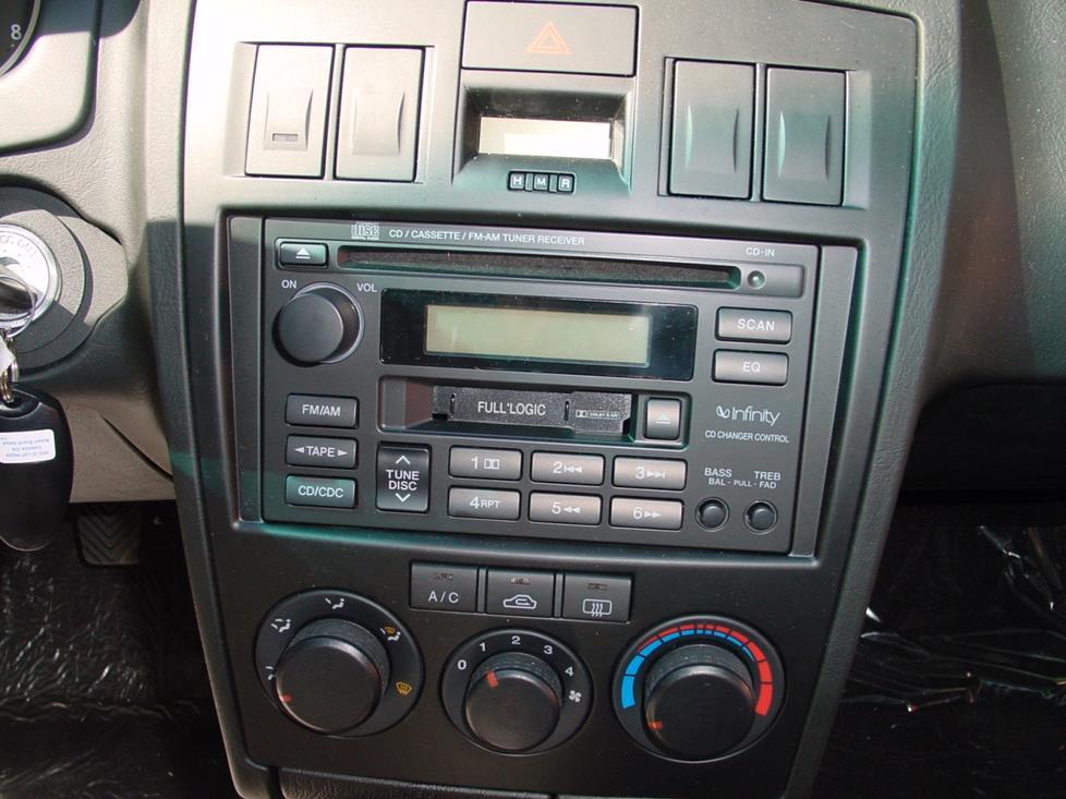 2003-2008 Hyundai Tiburon Car Audio Profile