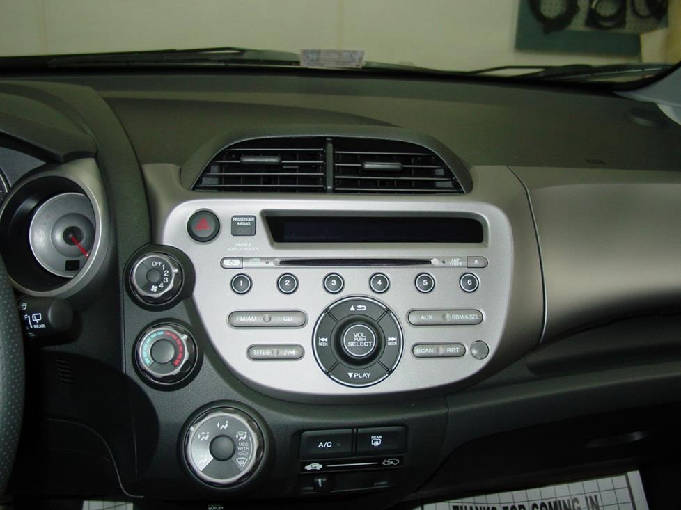 2009-2014 Honda Fit Car Audio Profile