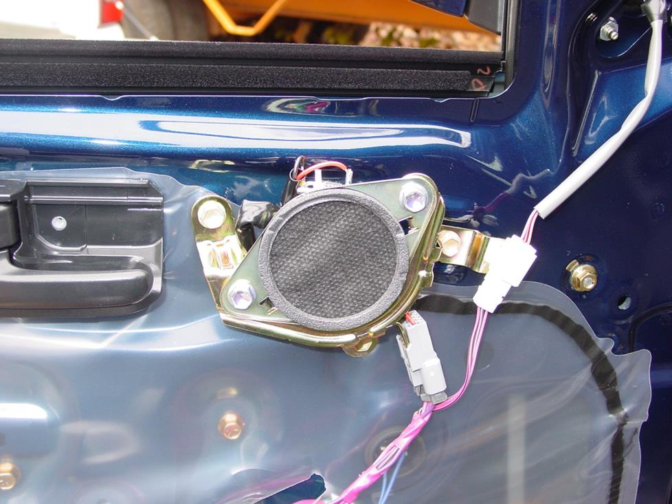 2005-2011 Toyota Tacoma Double Cab Car Audio Profile
