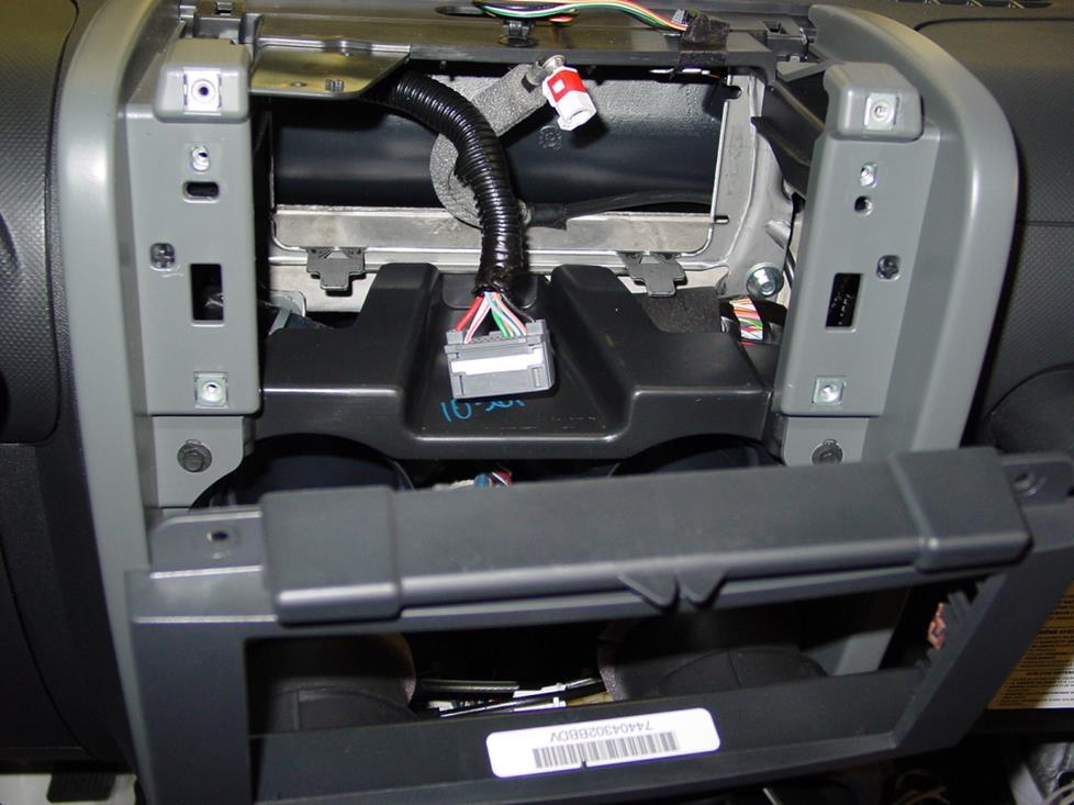 2007-2010 Jeep Wrangler Car Audio Profile