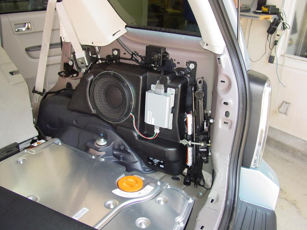 2008-2012 Ford Escape, Mercury Mariner, and Mazda Tribute Car Audio