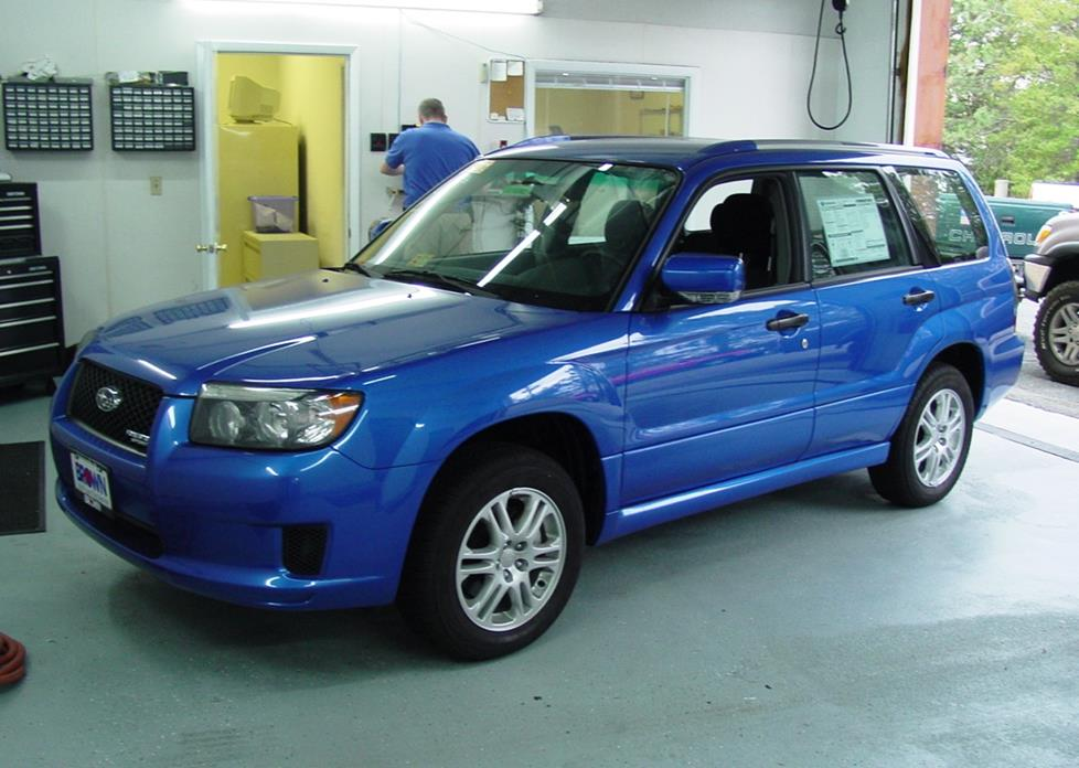 2003-2008 Subaru Forester Car Audio Profile
