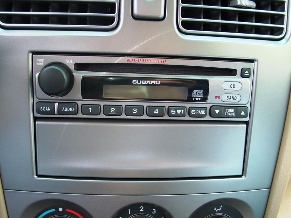 2003-2008 Subaru Forester Car Audio Profile