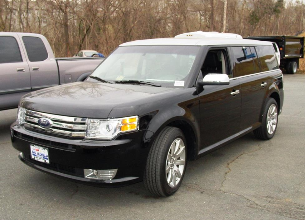 2009-2012 Ford Flex Car Audio Profile