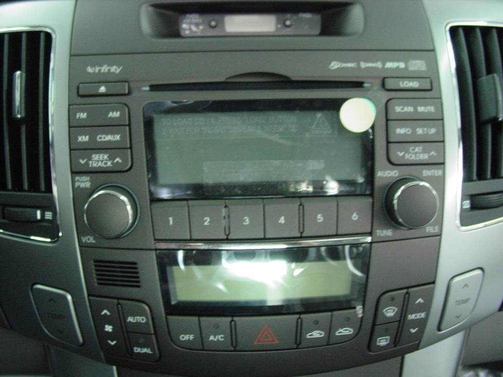 2006-2010 Hyundai Sonata Car Audio Profile