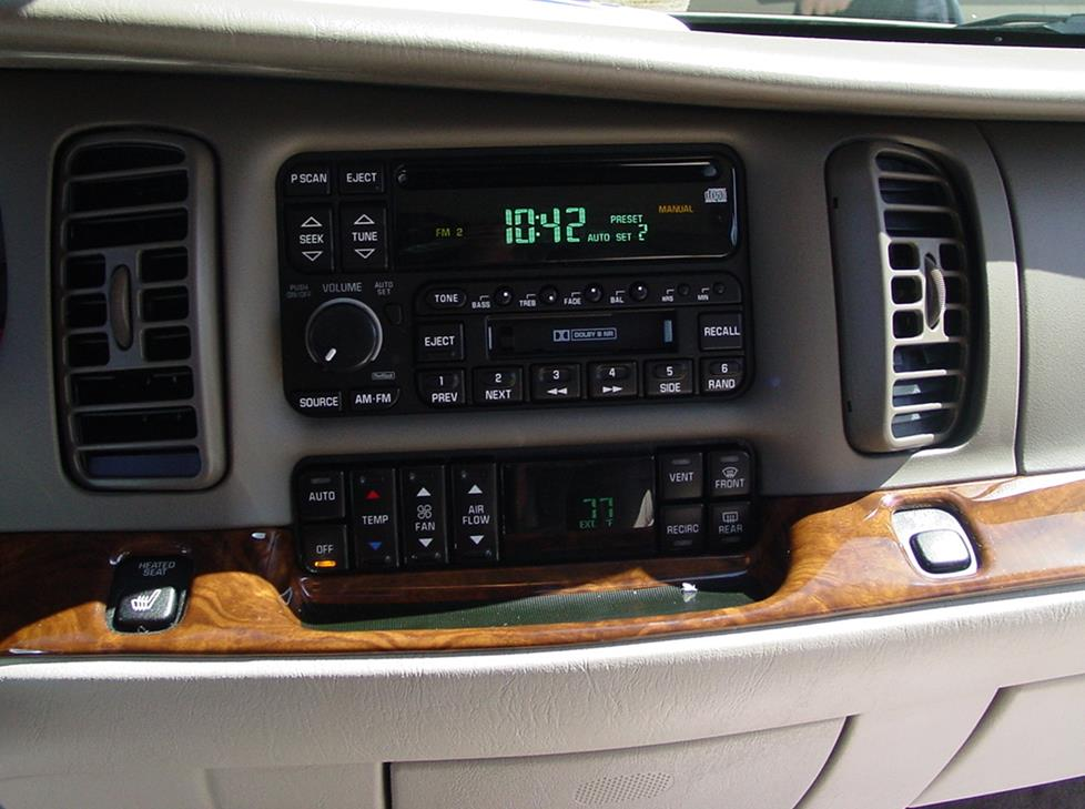1997-2005 Buick Park Avenue Installing New Car Audio Gear
