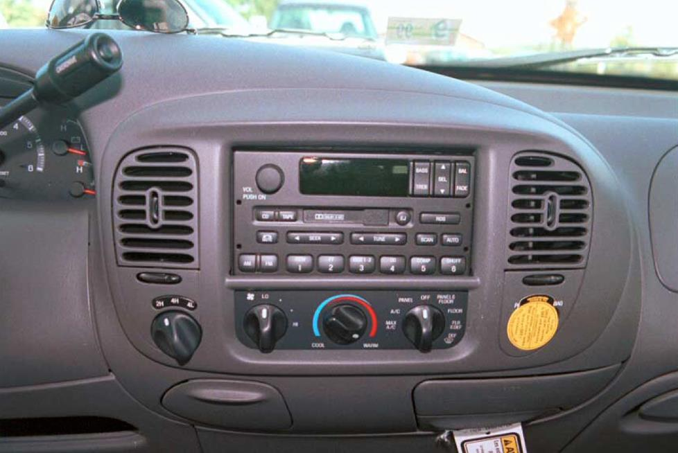 1997-2000 Ford F-150 Car Audio Profile