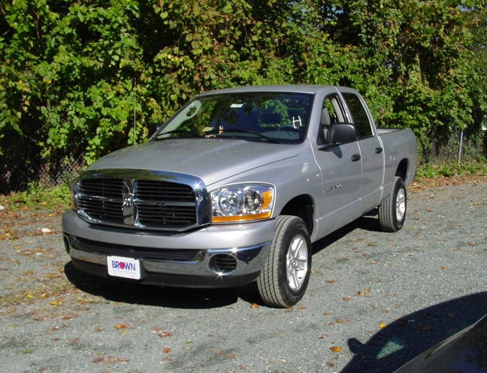 2006-2008 Dodge Ram Quad Cab Car Audio Profile