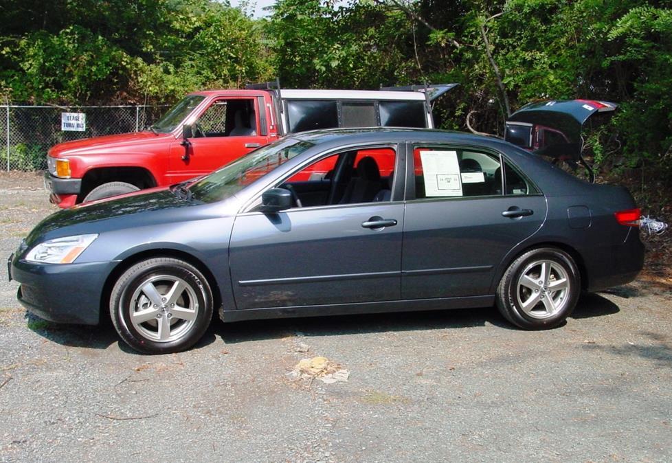 2003-2007 Honda Accord Sedan Car Audio Profile