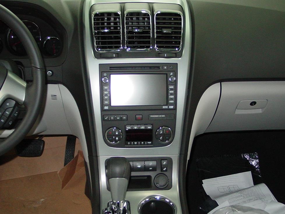 2007-2012 GMC Acadia Car Audio Profile