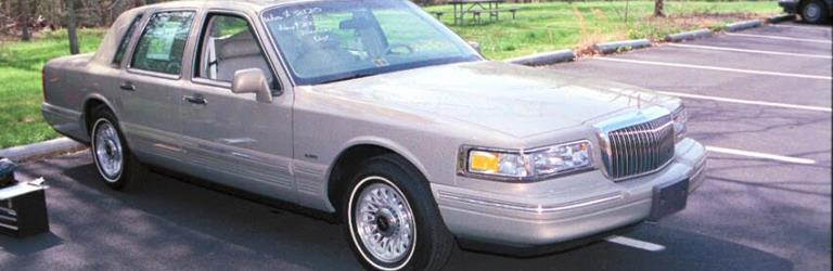 1997 Lincoln Town Car - find speakers, stereos, and dash kits that