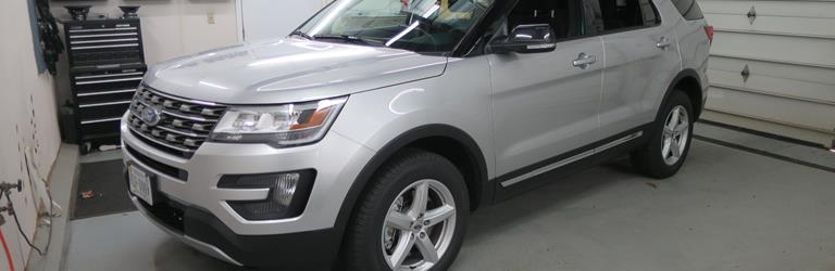 2016 Ford Explorer - find speakers, stereos, and dash kits that fit